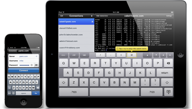 Panic Blog » Introducing Prompt  Nice SSH for iOS